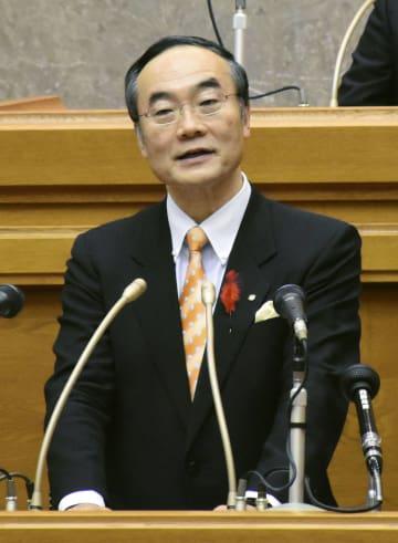 徳島県の飯泉知事が5選出馬表明 「挑戦者として戦い抜く」