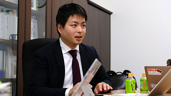日本財団ソーシャルイノベーション推進チームリーダーの花岡隼人さん