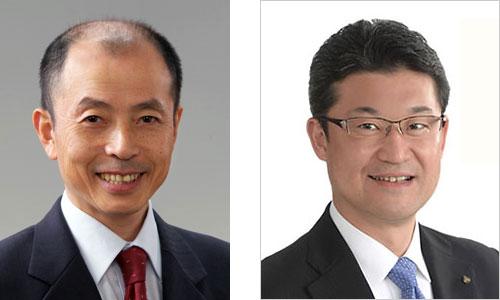 松本隆氏(左)、河野俊嗣氏(右)