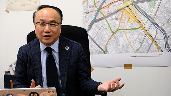 澤田伸 渋谷区副区長