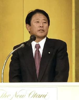 樽床氏が衆院補選出馬表明 大阪12区「地元に足着ける」