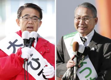 現職と新人が届け出、愛知知事選 県政8年への評価が争点