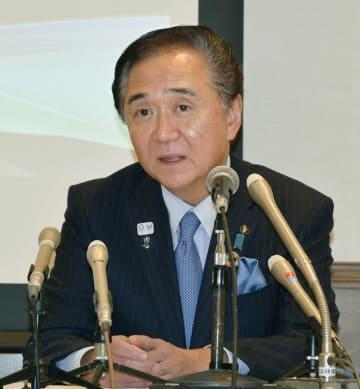 神奈川知事が3選出馬表明 「やり残したことある」