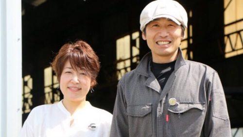 越智雅英さん・と妻の純子さん