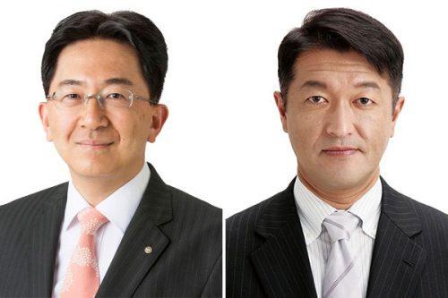 達増拓也氏(左)、及川敦氏(右)