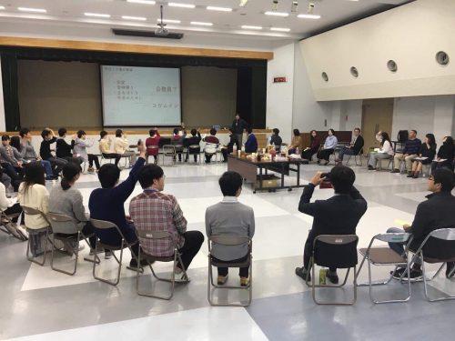静岡大学で開催した「公務員とコウムインを考えるトークセッション」というトークイベント