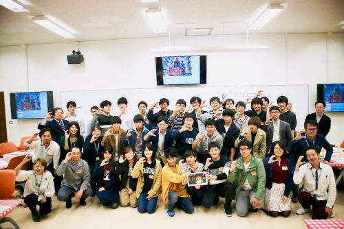 SIMULATIONもばら2030大学生と開催写真(千葉商科大学)