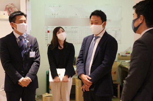 菅原文仁氏と笹川順平氏