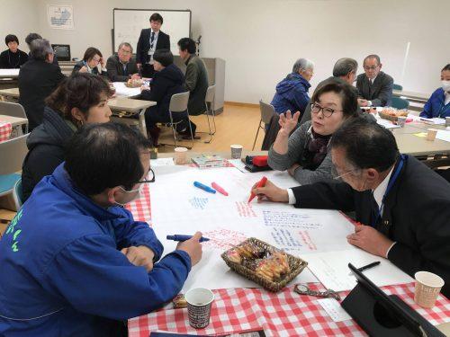 ワールドカフェによる市民意見の把握