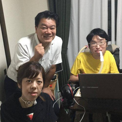(左から)猪瀬さん、小川議員、矢口さん
