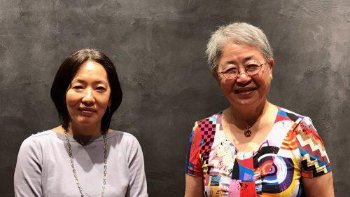 高橋部長(左)と奥村理事長